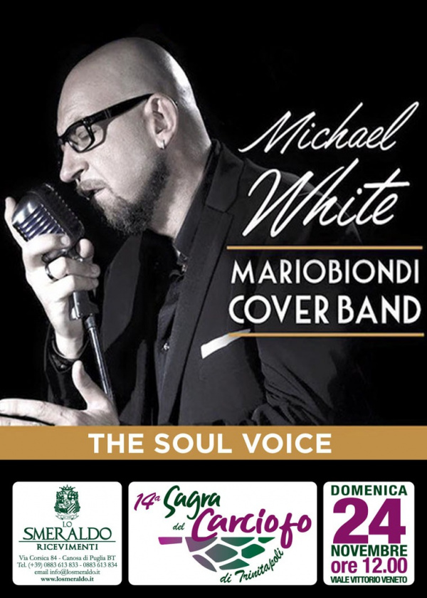 Michael White - Mario Biondi cover band